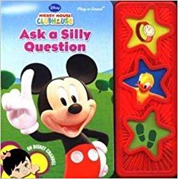 Ask a Silly Question (3 Button Board Book)